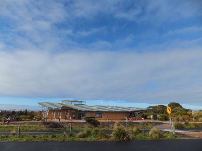 The Visitor Centre at the Twelve Apostles