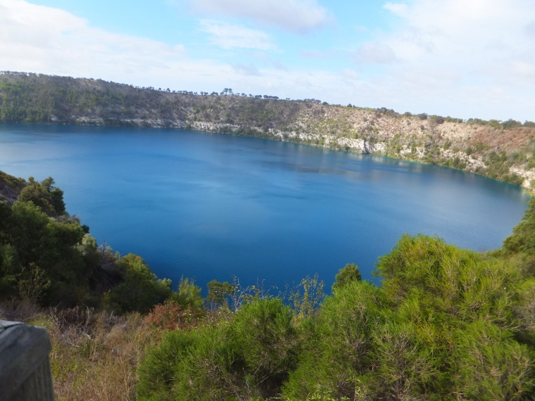 The Blue Lake at Mt. Gambier