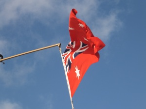 The Australian Red Ensign