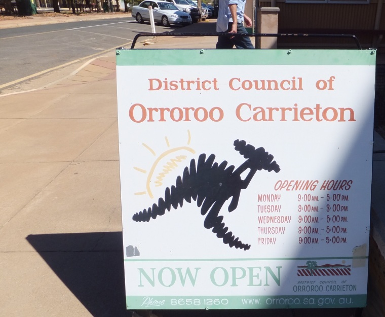 Orroroo, I just like the name