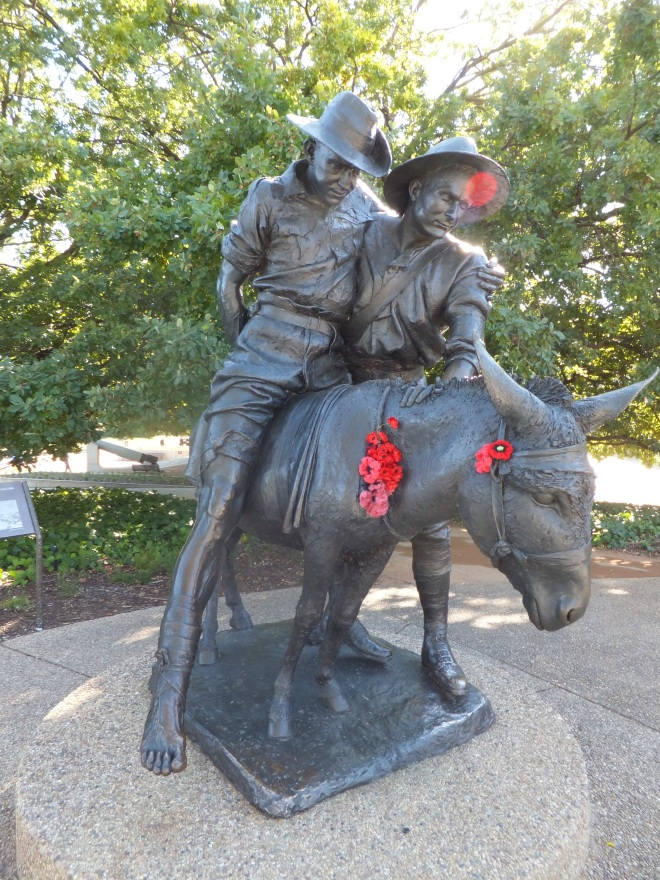 Simpson and His Donkey. https://www.awm.gov.au/visit/sculpture-garden/