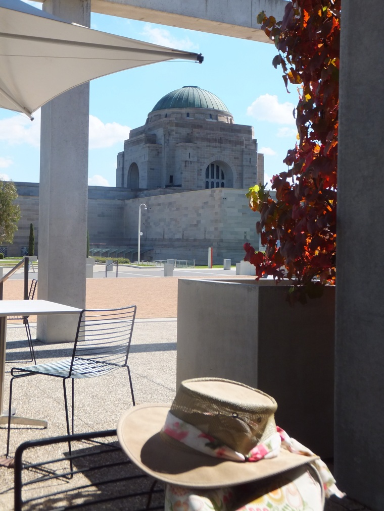 The Hall of Memory from Poppy's Cafe