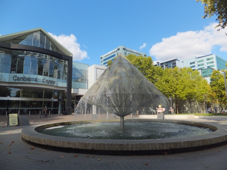 Canberra shopping Mall