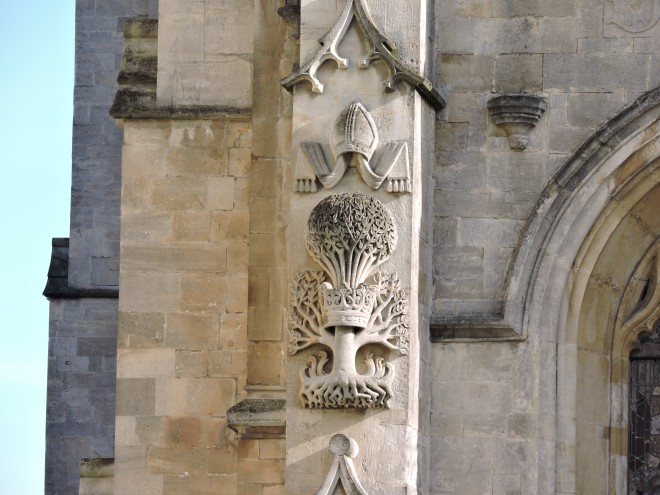 Abbey Carving